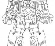 Coloriage et dessins gratuit Robot de combat à imprimer