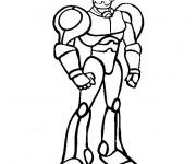 Coloriage et dessins gratuit Robot de Guerre à imprimer