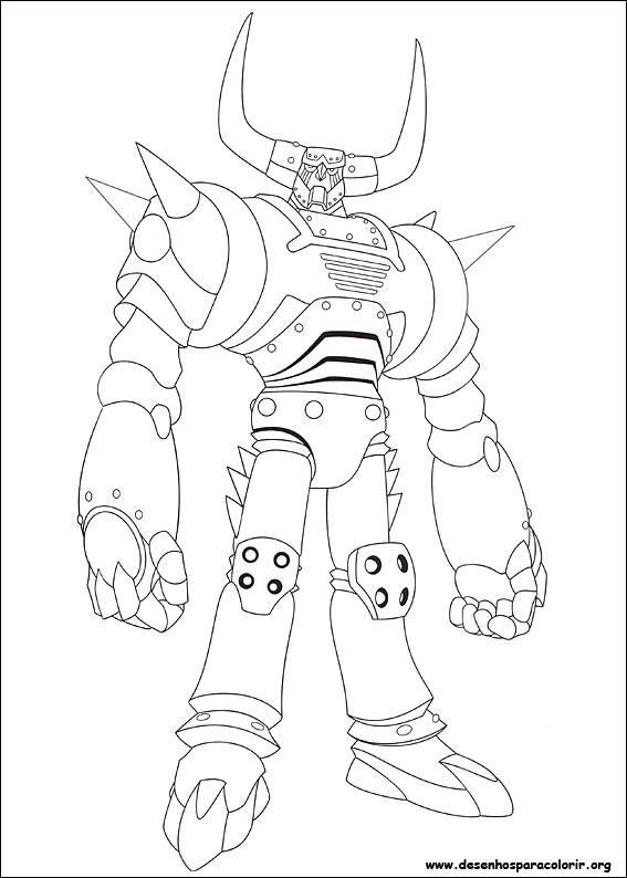 Coloriage et dessins gratuits Robot magique pour enfant à imprimer