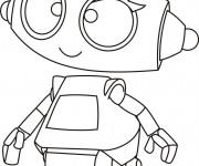 Coloriage et dessins gratuit Robot mignon à imprimer
