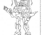 Coloriage dessin  Robots 10