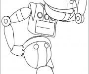 Coloriage dessin  Robots 12