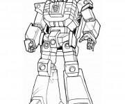 Coloriage dessin  Robots 13