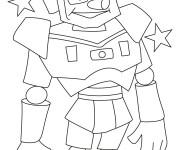 Coloriage dessin  Robots 14
