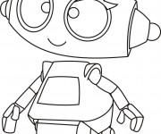 Coloriage dessin  Robots 4