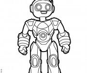 Coloriage et dessins gratuit Robots Cody Le Robosapien à imprimer