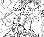 Coloriage Transformers Robot