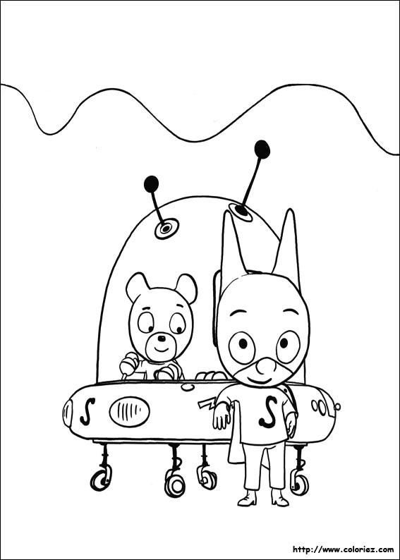 Coloriage et dessins gratuits Samsam à décorer à imprimer