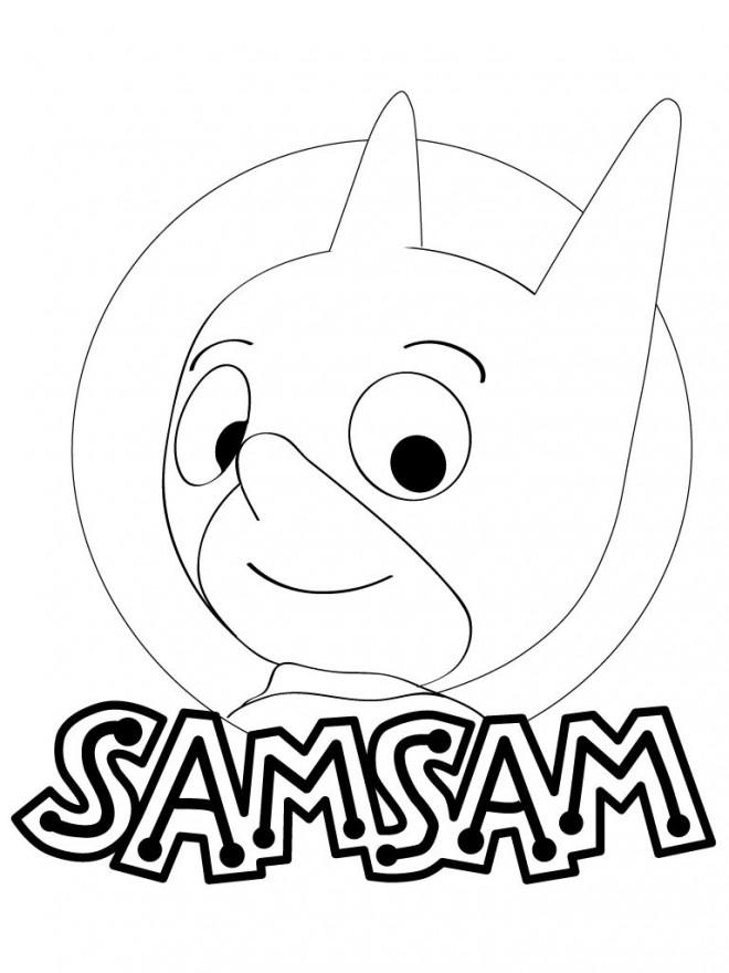 Coloriage samsam en couleur dessin gratuit imprimer - Dessin anime sam sam ...