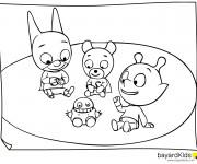 Coloriage et dessins gratuit Samsam et ses amis à imprimer