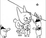 Coloriage et dessins gratuit Samsam humoristique à imprimer