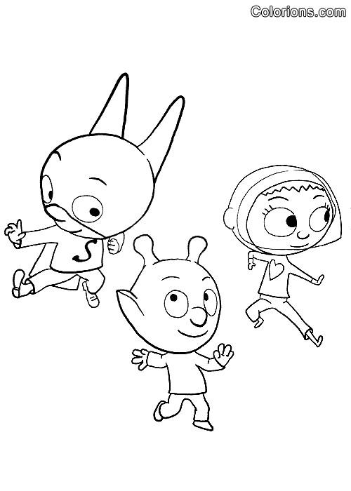 Coloriage et dessins gratuits Samsam mignon à imprimer
