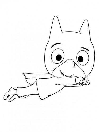 Coloriage samsam simon dessin gratuit imprimer - Dessin anime sam sam ...
