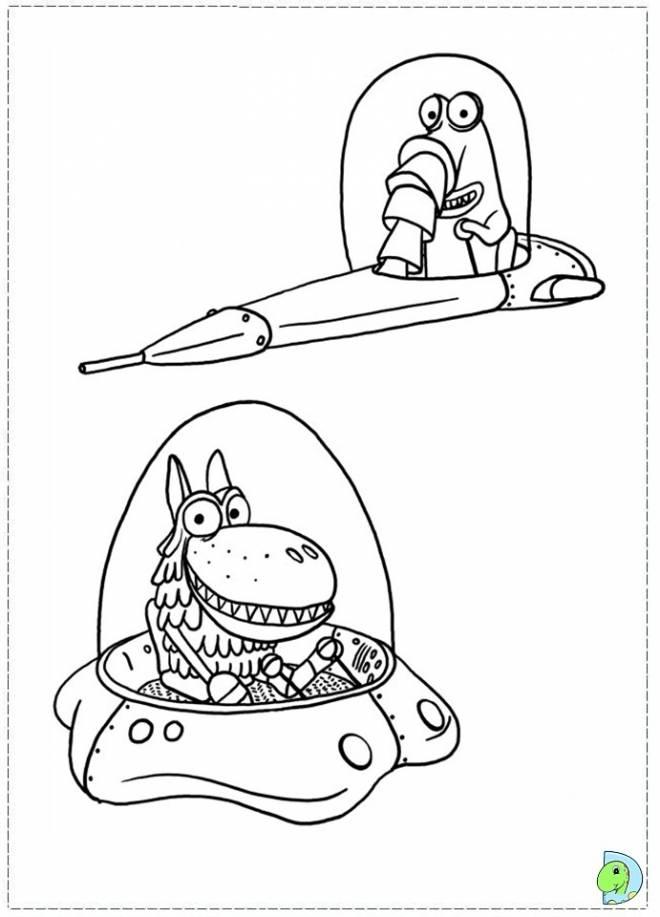 Coloriage et dessins gratuits Samsam simple à découper à imprimer