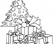 Dessiner en ligne vos coloriages préférés de Sapin de Noel
