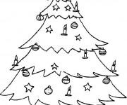 Coloriage Cadeaux de Noël sous le Sapin