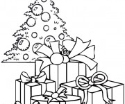 Coloriage dessin  Noel 5