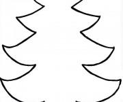 Coloriage dessin  Sapin de Noel 11