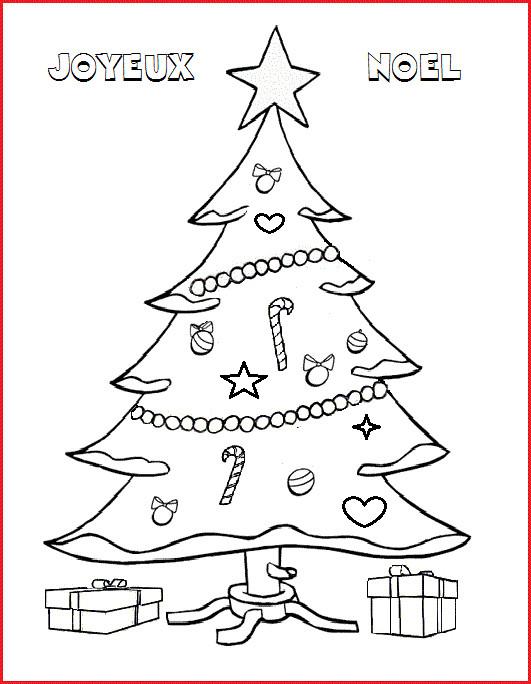 Coloriage En Ligne Gratuit Sapin De Noel.Coloriage Sapin Pour Un Joyeux Noel Dessin Gratuit A Imprimer