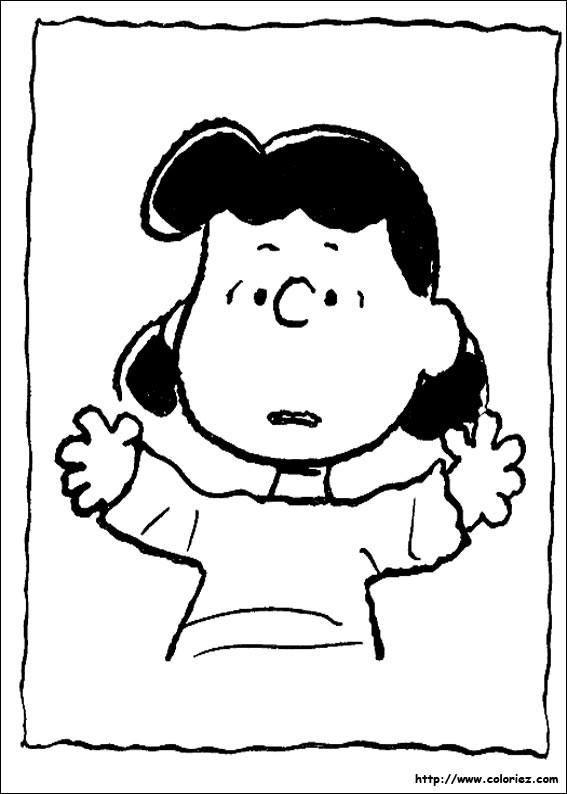 Coloriage et dessins gratuits Lucy en couleur à imprimer
