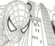 Coloriage Spiderman 22