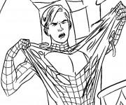 Coloriage Spiderman Facile 8