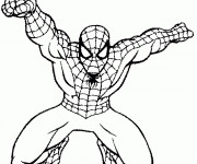 Coloriage et dessins gratuit Spiderman homecoming à imprimer