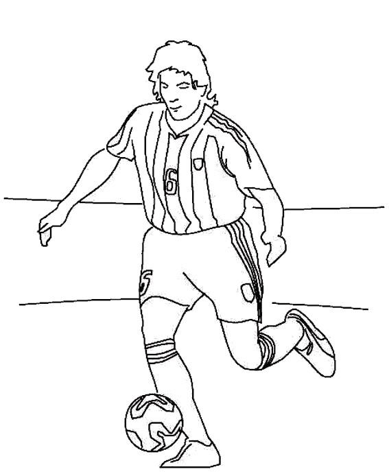 Coloriage Messi Joueur De Foot De Barcelone Dessin Gratuit à