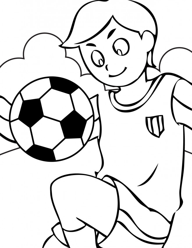 coloriage sport soccer dessin gratuit imprimer. Black Bedroom Furniture Sets. Home Design Ideas