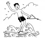 Coloriage Sports 10