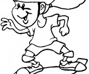 Coloriage Sports 11