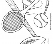 Coloriage Sports 8
