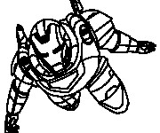 Coloriage dessin  Iron Man 16