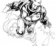 Coloriage dessin  Iron Man 42