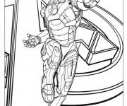 Coloriage Super héro de Avengers