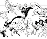 Coloriage Super Héros Marvel en Ligne