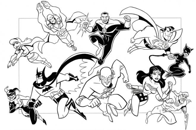 Coloriage super h ros marvel en ligne dessin gratuit imprimer - Coloriage heros ...