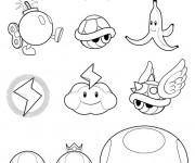 Coloriage Super Mario maternelle