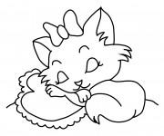 Coloriage Chat Volant.Coloriage Trop Mignon Gratuit A Imprimer Liste 20 A 40