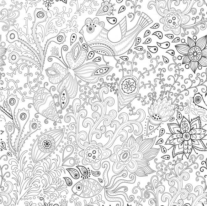 Coloriage et dessins gratuits Adulte stylisé à imprimer