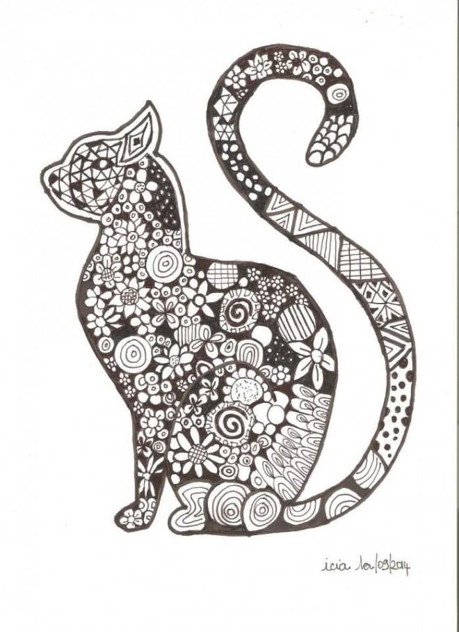 Coloriage zen animaux 19 dessin gratuit imprimer - Zen coloriage ...
