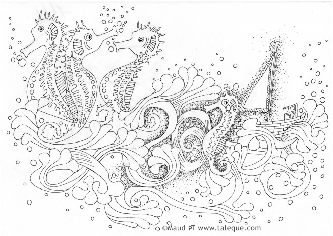 Coloriage zen animaux 40 dessin gratuit imprimer - Coloriage zen a imprimer ...