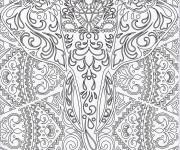 Coloriage Zen Animaux à colorier
