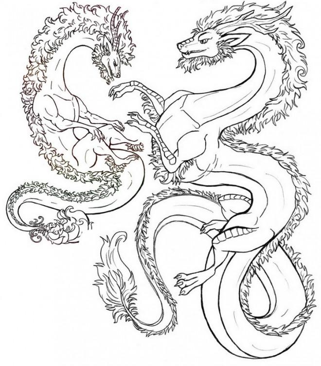 Coloriage zen dragons t l charger - Telecharger coloriage a imprimer ...