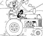 Coloriage dessin  Agriculture 9
