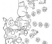 Coloriage et dessins gratuit Agriculture Adulte à imprimer