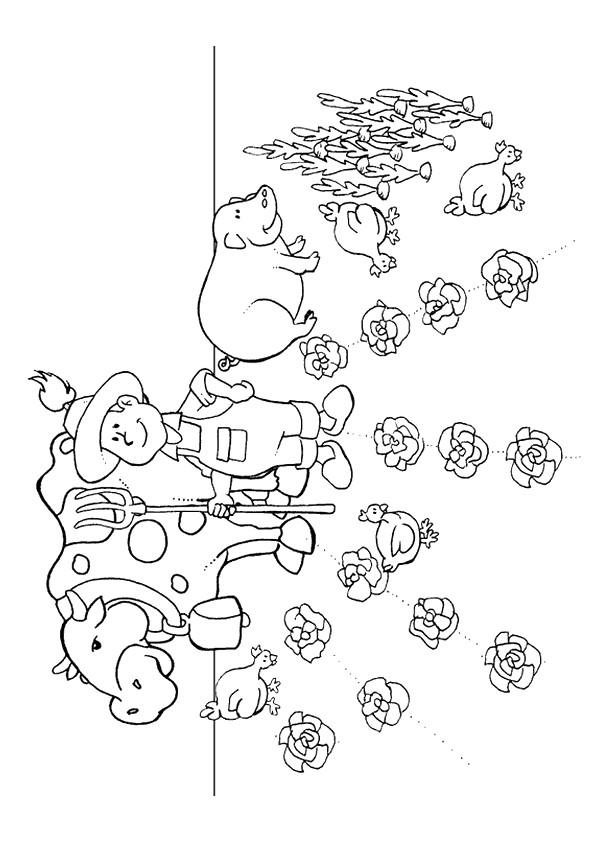 Coloriage et dessins gratuits Agriculture Adulte à imprimer