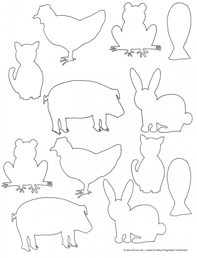Coloriage et dessins gratuits ANimaux de Ferme à compléter à imprimer