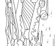 Coloriage et dessins gratuit Champs Agricole à imprimer