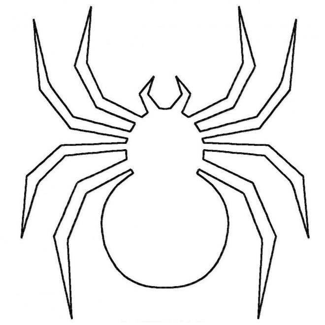 Coloriage et dessins gratuits Araignée à compléter à imprimer